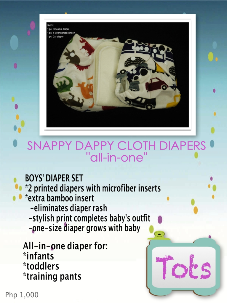 BOYS' DIAPER SET