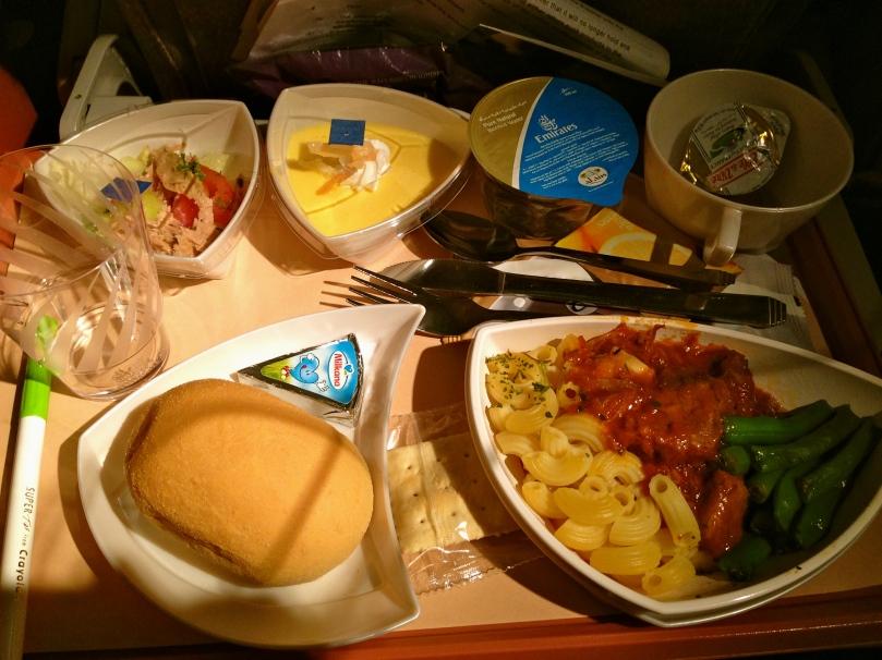 Food was surprisingly good!