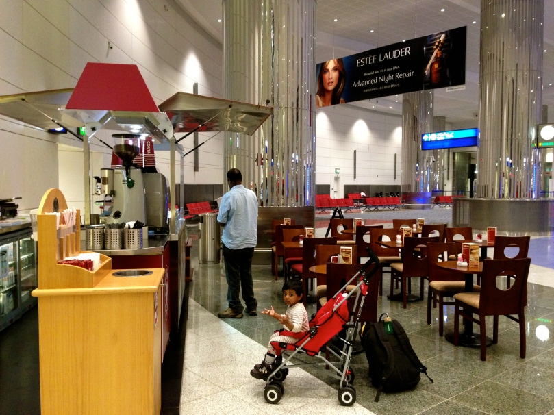 coffee shops around the airport