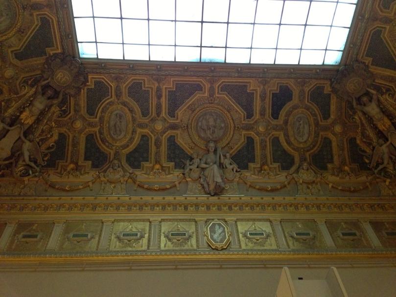 more ceiling art.