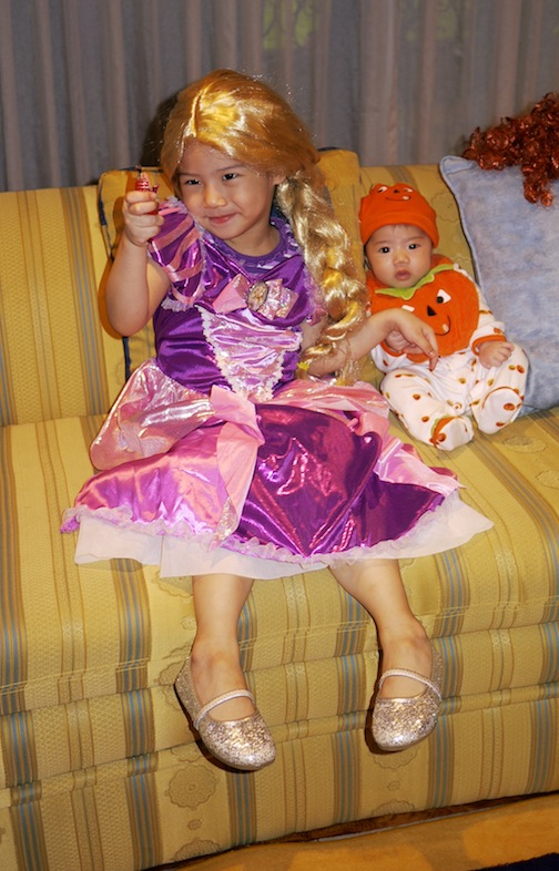 Tangled and Pumpkin