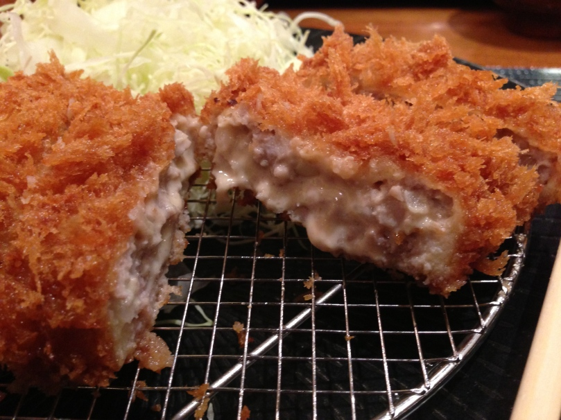 The other item we ordered was the katsudon with cheese inside.