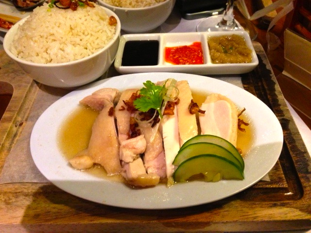 Also ordered their bestseller, Hainanese Chicken.  For us it tastes the same as others, but their chicken was soft.