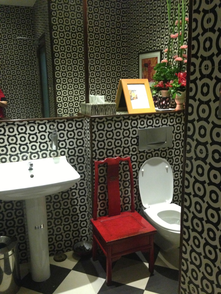 my restaurant review wouldn't be complete without a peak at the bathroom!
