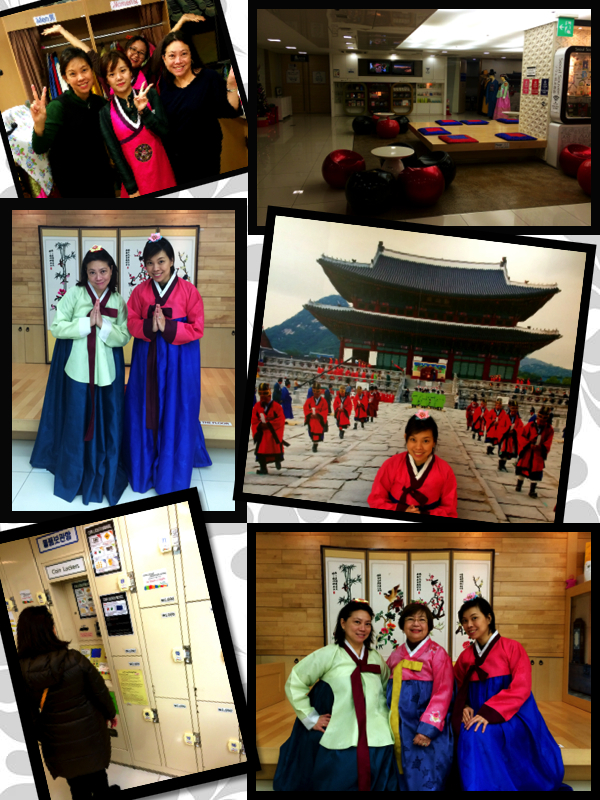 We wanted to experience how it was to wear one of these pretty Hanboks.