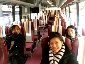 HOHO (hop on hop off) bus
