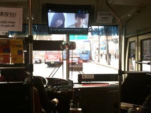 The HOHO buses even had the popular telenovelas on.