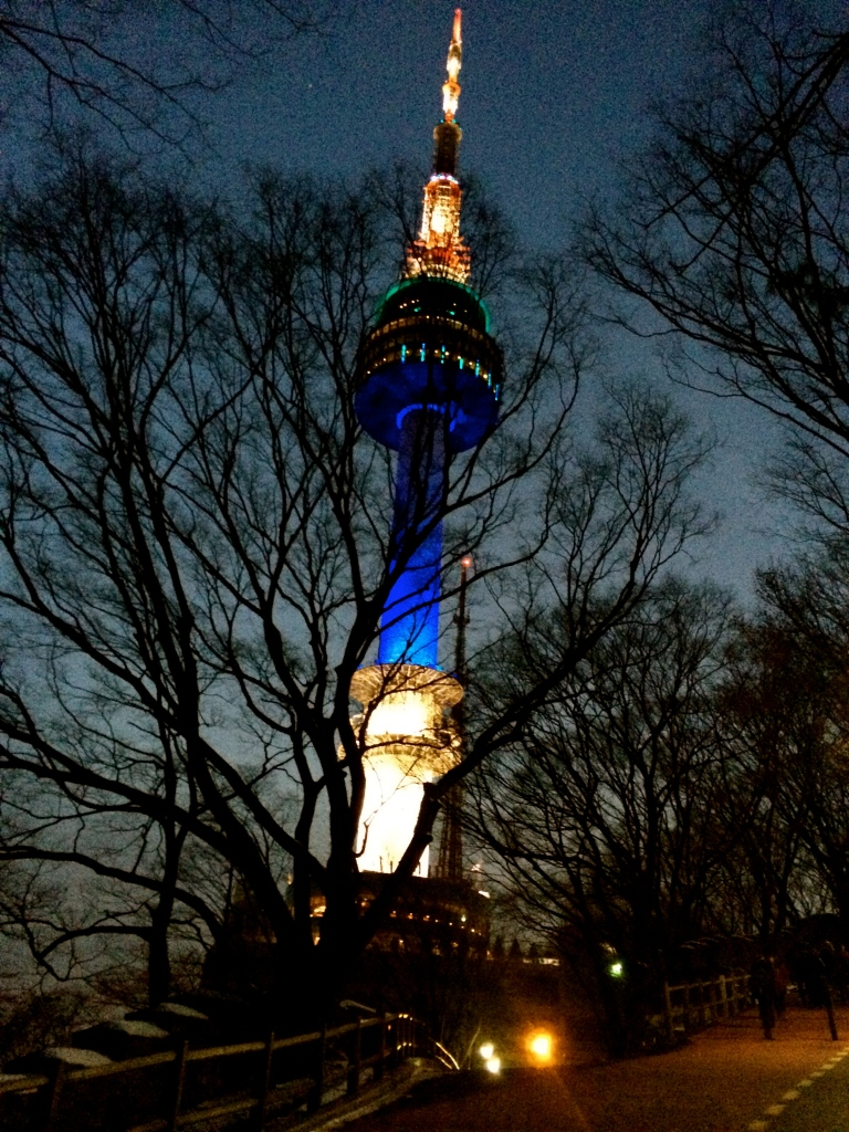 Next stop: NAMSAN TOWER.