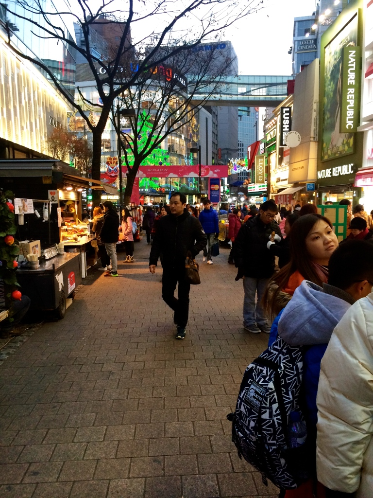 The place will look crowded when the night market stalls start setting up.