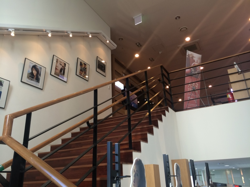 As you move on to the 2nd floor, you'd see pictures of famous artists.