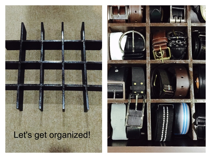 Here's a sample of how I organized our drawer.