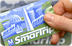 First of all, we got the smart trip card to get on the Metro. More details on the metro here http://www.wmata.com/fares/smartrip/